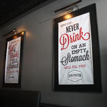 Реклама в ресторанах, кафе